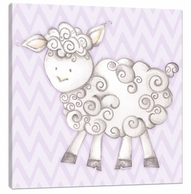 sheep wall art