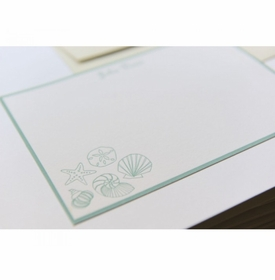 shells note cards