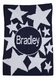 shooting stars and name stroller blanket