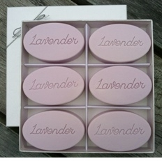 Signature Spa INSPIRE Soaps, Lavender (Sent of Six)