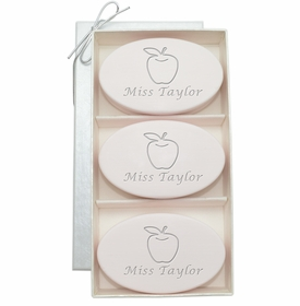 signature spa soaps - apple for teacher