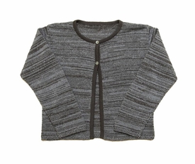 silver girls cardigan