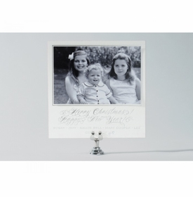 silver spectacular holiday card
