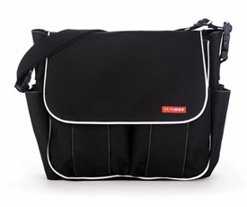 skip hop dash diaper bag - black