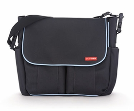 skip hop dash diaper bag - charcoal