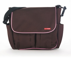 skip hop dash diaper bag - chocolate