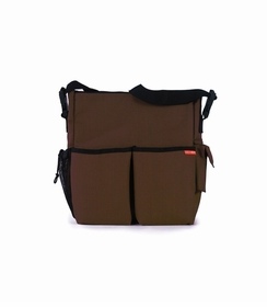 skip hop duo diaper bag - chocolate