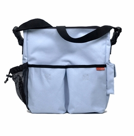 skip hop duo diaper bag - ice blue