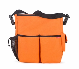 skip hop duo diaper bag - orange