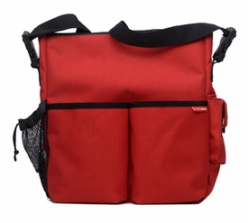 skip hop duo diaper bag - red