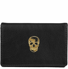 skull bobbi card wallet