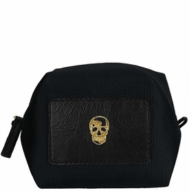 skull origami pouch