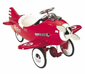 sky king red pedal plane