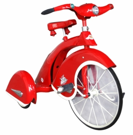sky king tricycle red