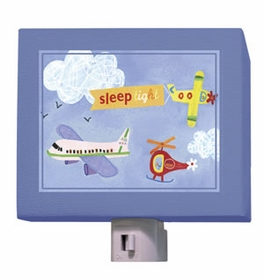 sleep tight airplanes nightlight