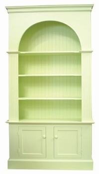 small arch bookcase