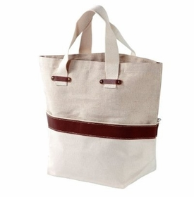 smart carry all natural jute tote