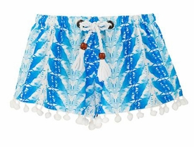 snapperrock blue feathers swim shorts