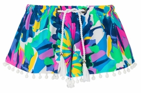 snapperrock tropical neon swimshorts