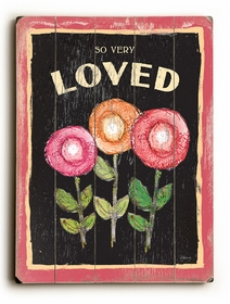 so very loved ll vintage sign