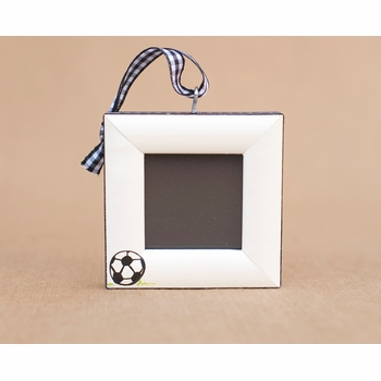 soccer christmas tree ornament