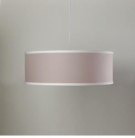 solid shallow cylinder light - blush