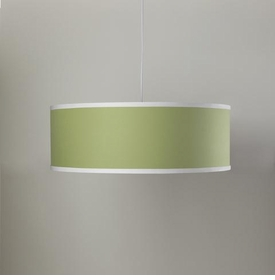solid shallow cylinder light - spring green
