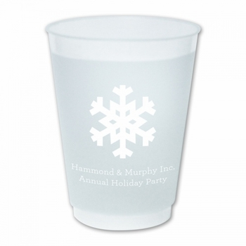Solid Snowflake Cup