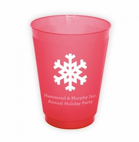 Solid Snowflake Cups