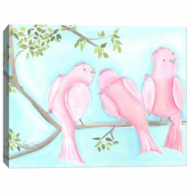song birds one wall art