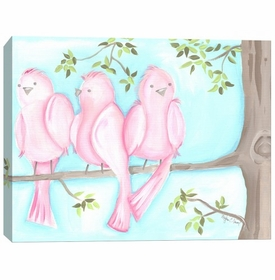 song birds wall art