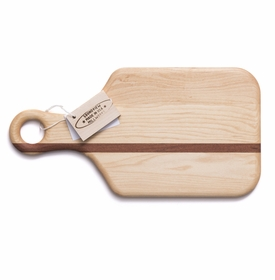 soundview millworks cheese with handle serving board