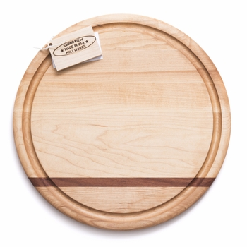 soundview millworks circle cutting serving board