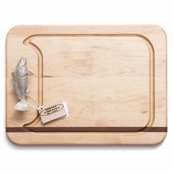 soundview millworks fish handle appetizer handle board