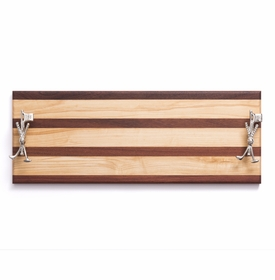 soundview millworks golf club and flag stick serving handle board