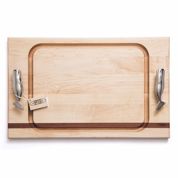 soundview millworks whale handle steak handle board