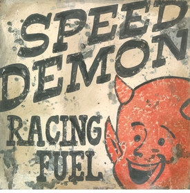 speed demon -  wall art - unavailable