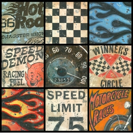 speedway wall art - unavailable