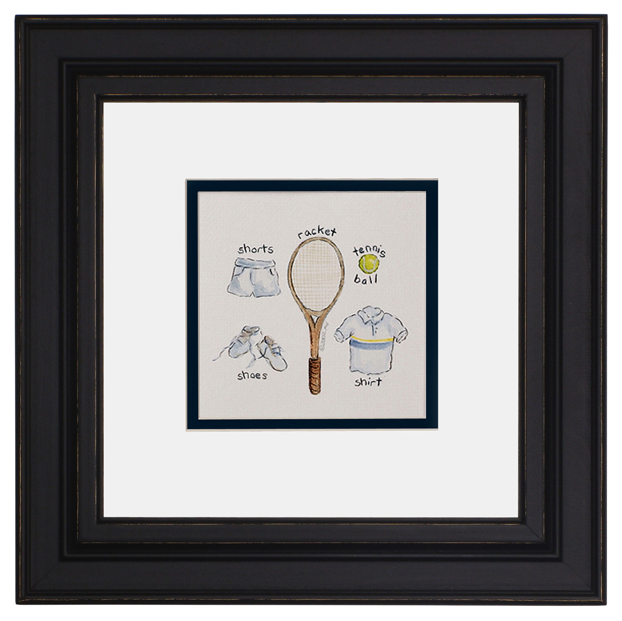 Art For Kids Afk Sports Print Tennis
