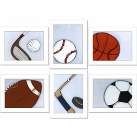 sports set wall art - SOLD OUT
