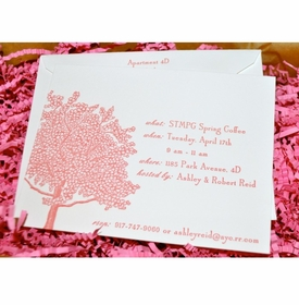 spring luncheon invitations