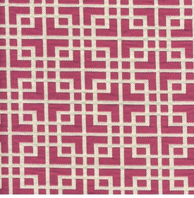 Square Dance Pink Fabric