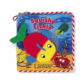 squishie fishie bath book by lamaze