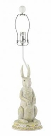 standing bunny lamp base - unavailable