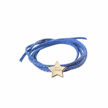 star amazon charm bracelet - silver or gold plated
