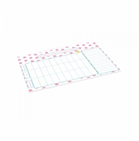 star chart dusty pink dots