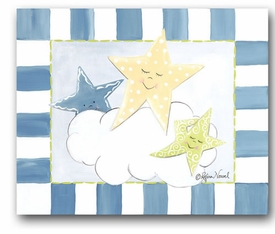 stars canvas reproduction wall art - SOLD OUT