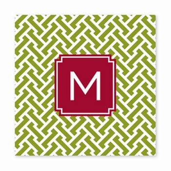 stella jungle square paper coaster<br>set of 50