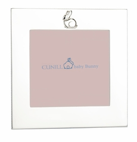 sterling silver pink bunny frame 4 x 4