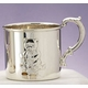 sterling silver teddy bear cup